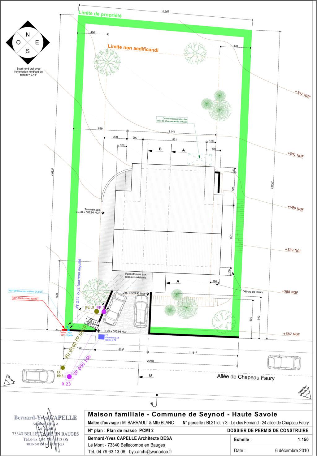 Maison Nezrouge Permis De Construire Plan De Masse Pcmi2