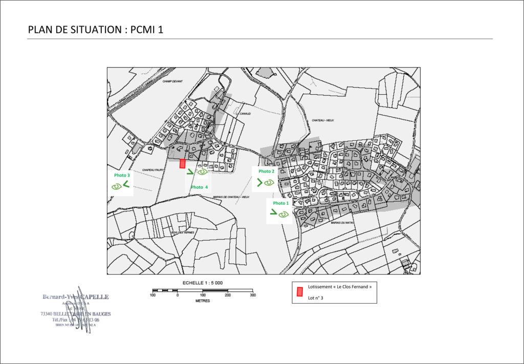 Maison Nezrouge Permis De Construire Plan De Situation Pcmi1